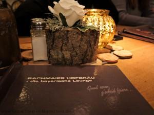 Das Motto: Guad essen, g'scheid feiern!