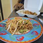 Chiang Mai Nudeln to go: für einen mehr als genug.