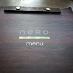 Die Speisekarte des Nero Pizza & Grill.