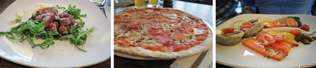 Gut Essen in München im Nero Pizza & Grill