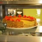 Erdbeer-Rhabarber-Super-Cheesecake für 3,90 Euro
