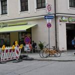 Das Goodies München im Veganz in der Baldestraße.