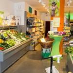 Das Goodies München ist im veganen Supermarkt Veganz untergebracht.