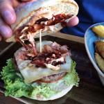 Burger Käse & Speck