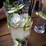 Alkoholfreier Holunderblüte (Ingwer, Holunder, Ginger Ale)