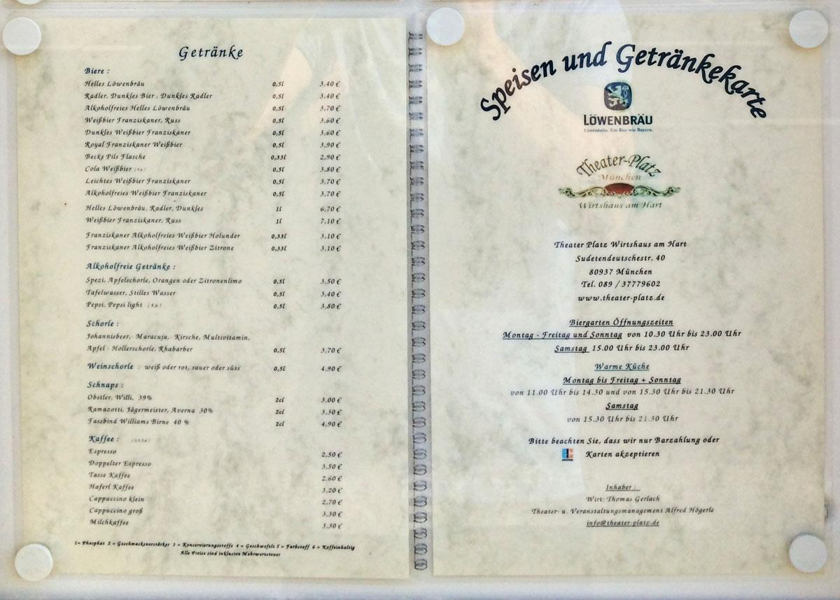 Geschlossen - Wirtshaus am Hart: Bayerisches Lokal mit Biergarten ...