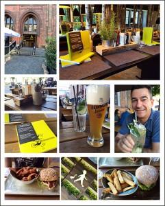 Gut Essen im Hans im Glück Isarpost in der Sonnenstraße.