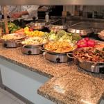 Gemüsebeilagen zu den Fleischgerichten.
