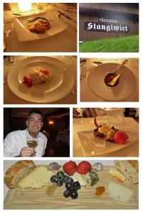 Gourmet-Abendessen im Stanglwirt