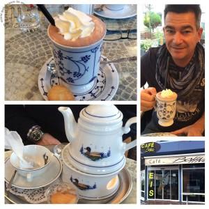 Tee und Tote Tante im Café Bohne in Büsum