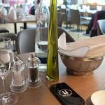 Modernes Ambiente im Conti Restaurant