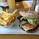 Block House Burger mit Pommes für 13,80 Euro