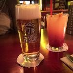 Tegernseer Hell und Limone-Himbeer-Limonade