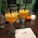 Prosecco mit Mandarinen