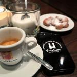Espresso im Kleines Kameel