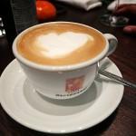 Cappuccino im Kleines Kameel