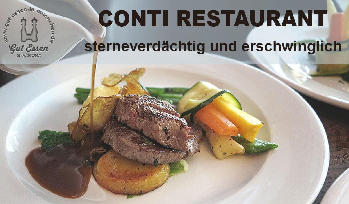 Conti Restaurant in München Max-Joseph-Str5
