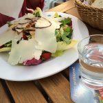 Insalata Caesare mit Putenstreifen (9,80 Euro)