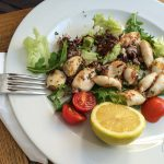 Calamaretti alla Griglia (16,50 Euro)