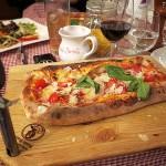 Pizza Francseco im Locanda Busento