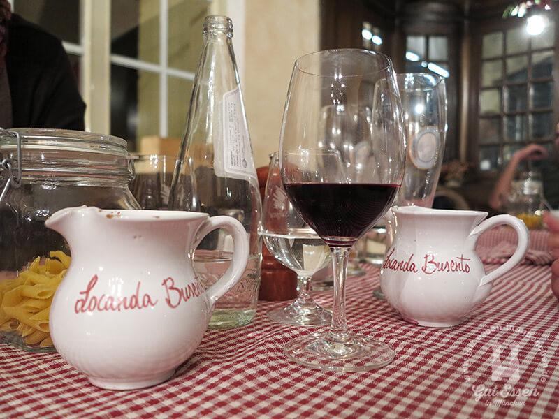 Landwein im Locanda Busento ab 4,70 Euro