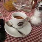 Espresso im Locanda Busento