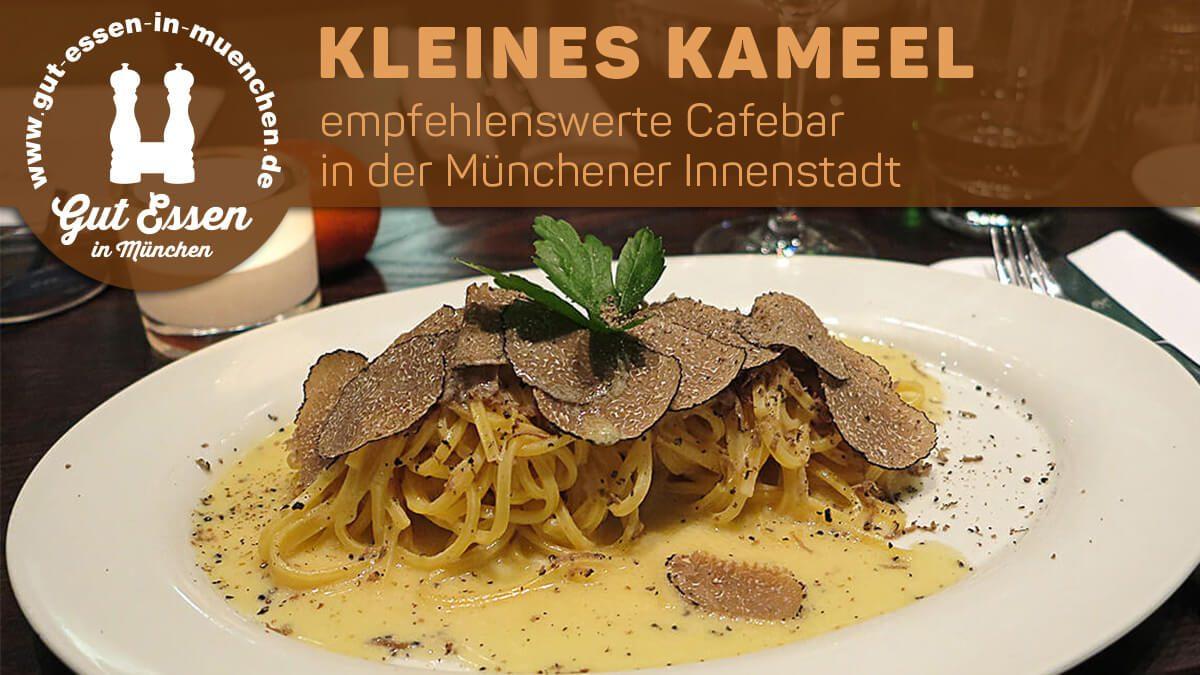 Kleines Kameel, Cafebar im Hofgaten in der Münchener Innenstadt