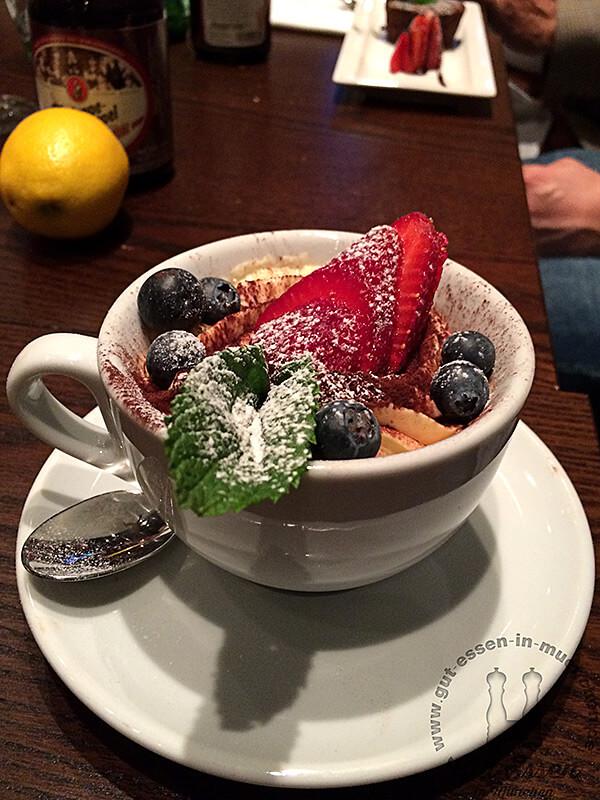 Tiramisu: Sieht super aus und schmeckt auch klasse