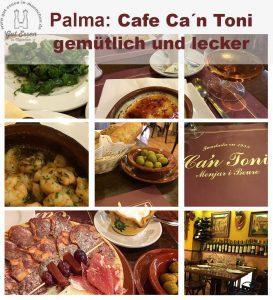 Palma de Mallorca: Cafe Ca´n Toni – gemütlich und lecker, drinnen wir draußen