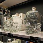 Wodka im Kristallschädel