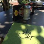 Speisekarte im Café & Restaurant Vor Ort