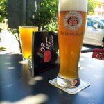 Mangoschorle (3,30 Euro) und Alkoholfreies Weißbier (3,60 Euro)