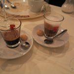 Espresso im Glas und Espresso Macchiato