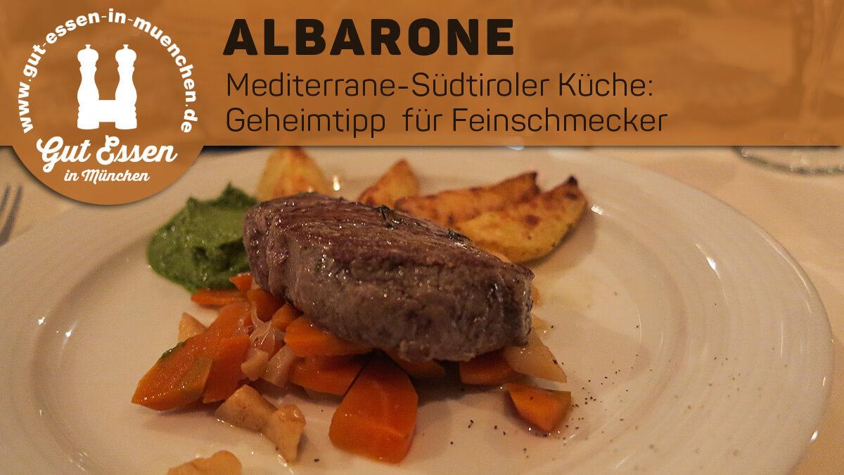 Im Restaurant Albarone in der Münchener Innenstadt serviert Chef Georg Mayrhofer täglich wechselnde und frisch zubereitete Überraschungsmenüs.