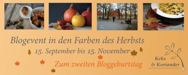 Blogevent von Keks & Koriander