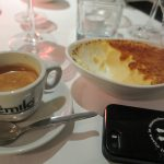 Espresso und Creme Brulee im Le Faubourg
