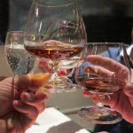 Als Digestif hatten wir die Qual der Wahl zwischen Williams, Calvados und Wasser...