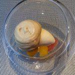 Cremiger Chai im Schuhbecks Fine dining