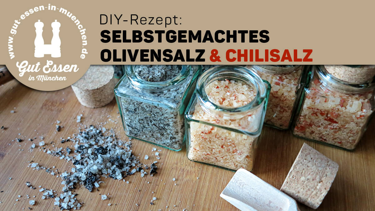 DIY-Rezept: Selbstgemachtes Olivensalz & Chilisalz