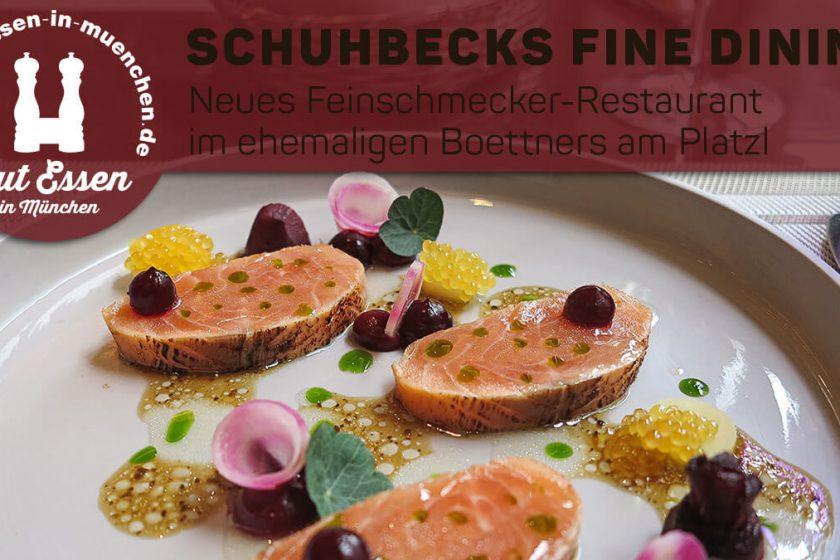 Schuhbecks Fine dining im Boettners – neues Feinschmeckerlokal am Platzl