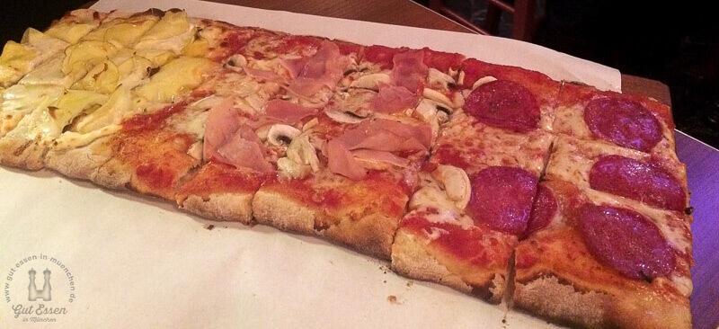 5651 pizzesco pizza gut essen in m nchen. Black Bedroom Furniture Sets. Home Design Ideas