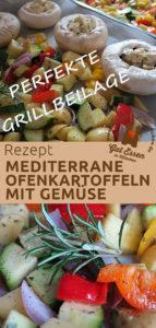 Rezept: Mediterrane Ofenkartoffeln mit Gemüse