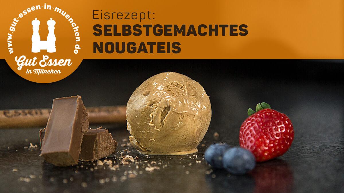 Eisrezept: Nougateis – pur, mit Tonkabohne oder mit Schuss