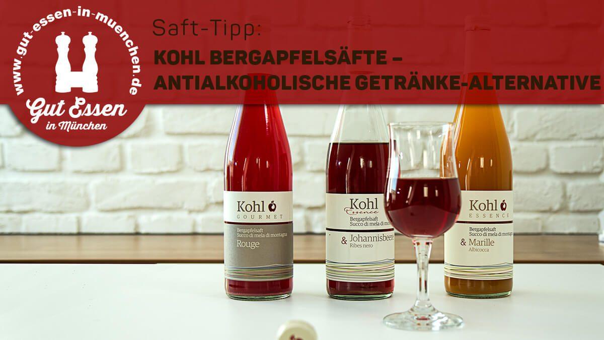 Saft-Tipp: Kohl Bergapfelsaft – antialkohlische Getränke-Alternative