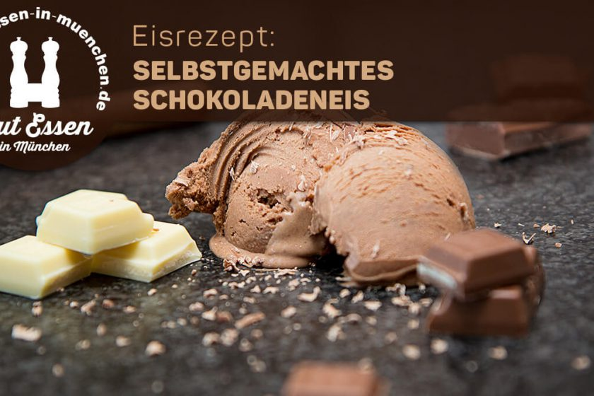 Eisrezept: selbstgemachtes Schokoladeneis – verfeinerte Rezeptur