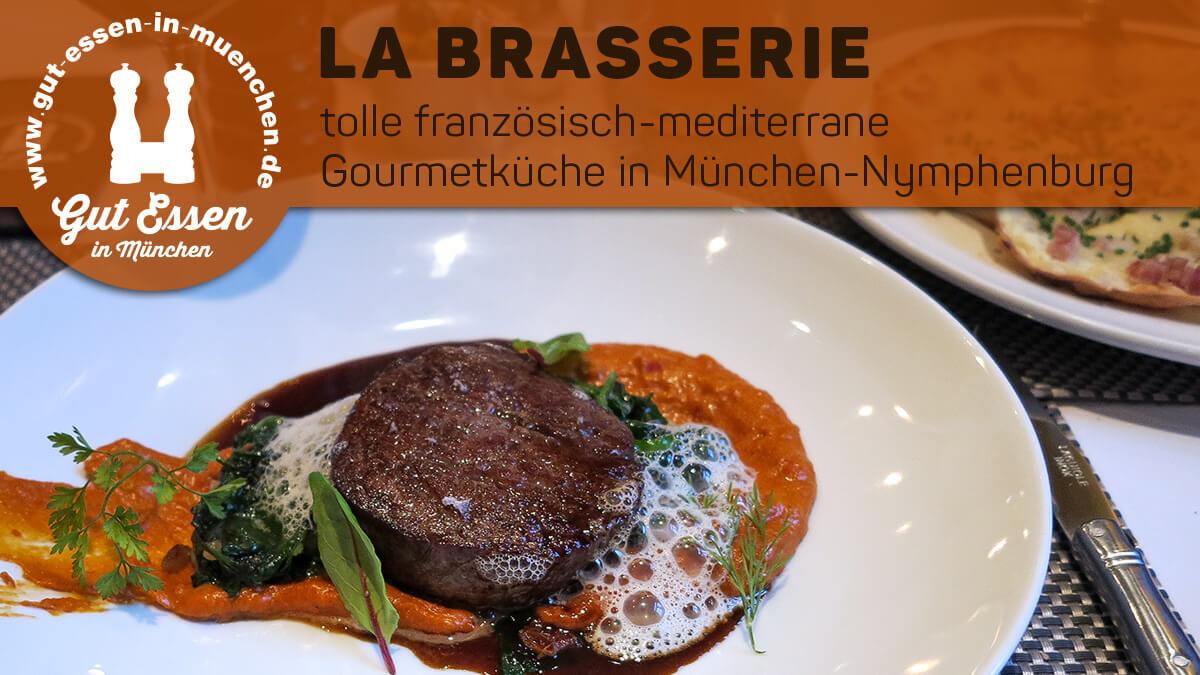 La Brasserie in München-Nymphenburg