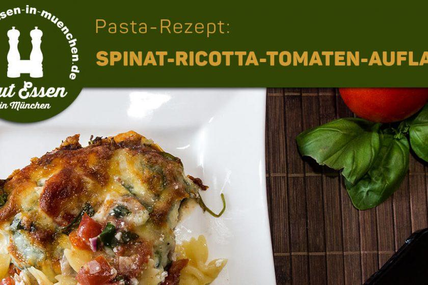 Rezept: Spinat-Ricotta-Tomaten-Auflauf mit Bärlauch & Mozzarella – Nachgekocht
