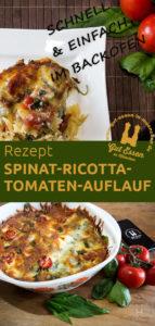 Rezept: Spinat-Ricotta-Tomaten-Auflauf