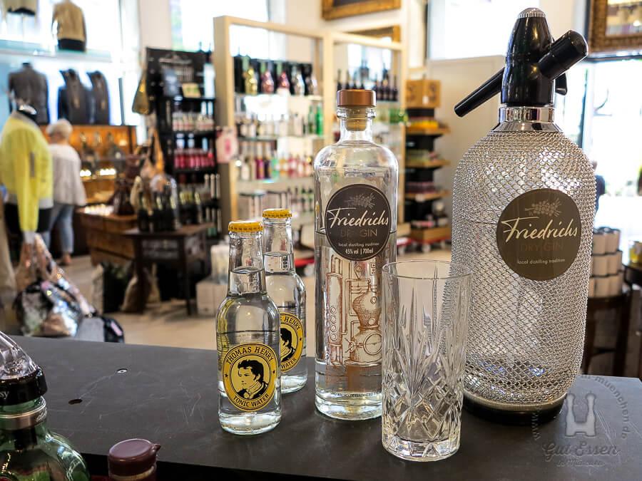 Friedrichs Dry Gin für 39,95 Euro im Vogelwildes München