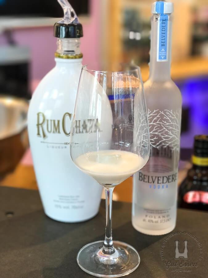 Rumchata mit Belvedere Vodka